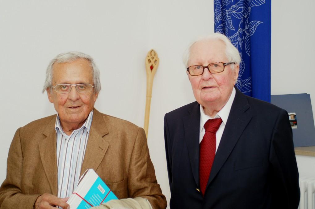 Dieter Hildebrandt und Hans Jochen Vogel